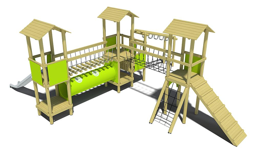 Ibondo play equipment managua urbano y accesible for Mobiliario urbano caracteristicas